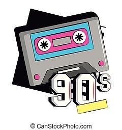90s music cassette