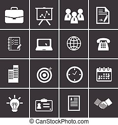 91-2 Office and Business Icons