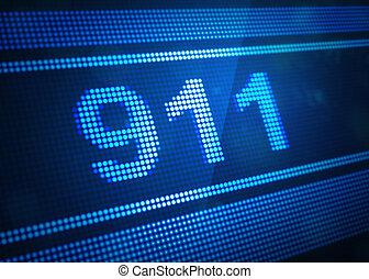 911, デジタルのイラスト, スクリーン, 3d