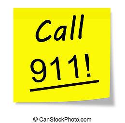 911!, 呼出し