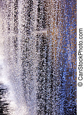 911 Memorial Pool Waterfall Droplets Patterns Abstract New York