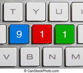 911 On Keyboard