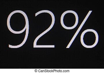 92 percentage discount