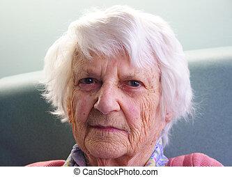 Senior citizen - 94 year old Senior citizen portrait