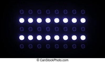 95, projecteurs