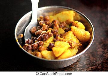 Nepal - Local Food - Fried Putato