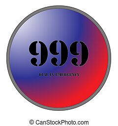 999 for Emergencies - A Big 999 Button for Emergencies...
