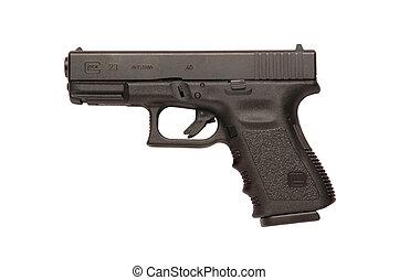 9mm, glock, pistolet ręczny