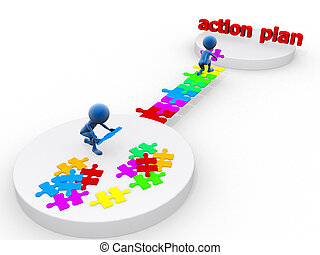ação, plano