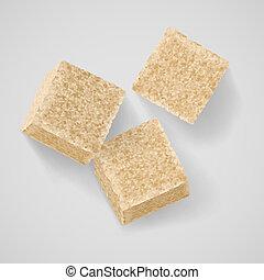 açúcar marrom