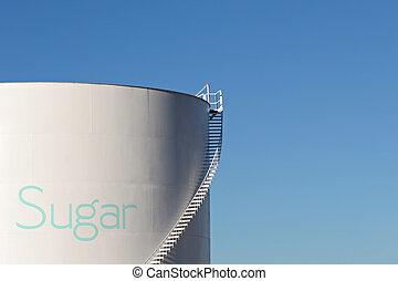 açúcar, silo