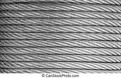 aço, corda, fundo