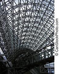 aço, estrutura