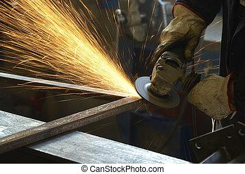 aço, fabricando