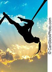 aéreo, acrobático