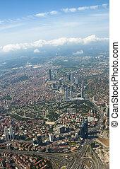 aérien,  istanbul, vue