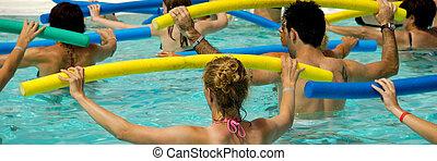 aérobie, piscine