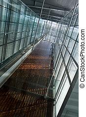 aéroport, couloir