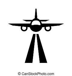aéroport, icônes