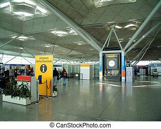 aéroport, moderne