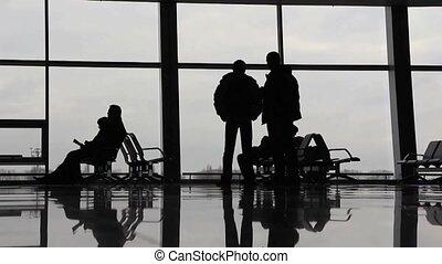 aéroport, timelapse