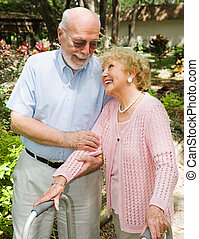 aînés, -, confiance, et, amour