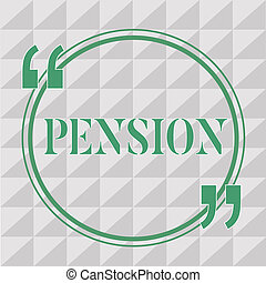 aînés, gagner, retraite, photo, texte, projection, après, personnes agées, signe, pension., revenu, conceptuel, sauve, années