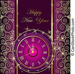 año, feliz, feliz navidad, nuevo