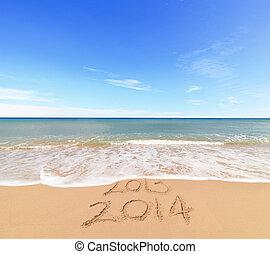 año nuevo, 2014, venida