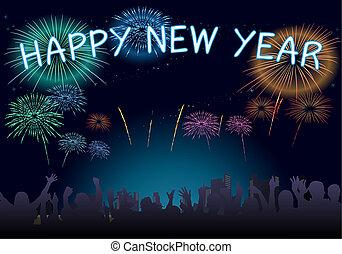 año nuevo, 2018