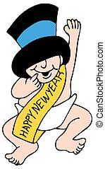 año nuevo del bebé