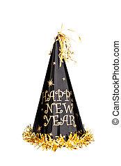 año nuevo, sombrero