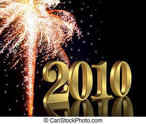 años, 2010, nuevo, eva