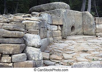 años, 5000, dolmen., old.