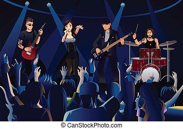 aでの人々, コンサート