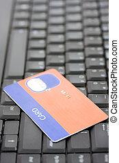 a, 信用卡, 上, a, 鍵盤