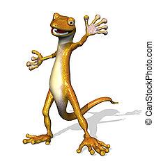 a, 味方, gecko, 歓迎, あなた