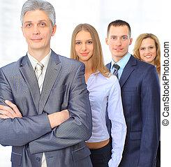 a, 商业界人士的组