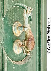a, 裝飾, 青銅門, 處理, mdina, 馬耳他