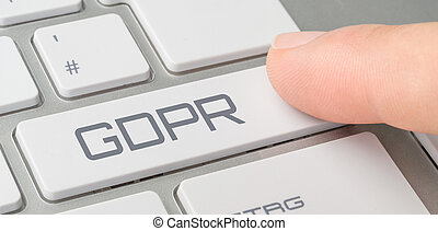 a, 鍵盤, 由于, a, 貼上標籤, 按鈕, -, gdpr