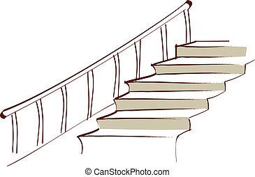a, 階段