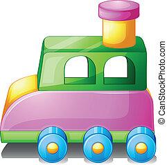a, 鮮艷, 玩具汽車