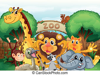a, 동물원, 와..., 그만큼, 동물