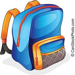 a, 학교 가방