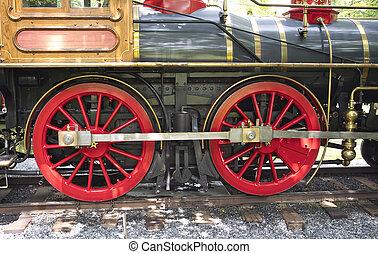 1960's Steam Locomotive Drive Gear