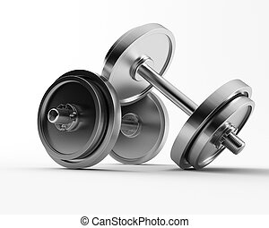barbell - a 3d made group of barbell