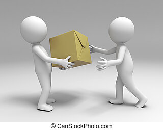 package to the other