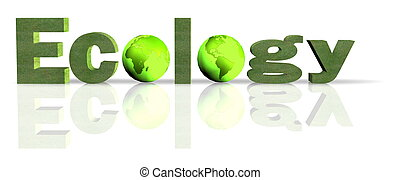 "ecology - A 3d text ""ecology\"" for ecological information..."