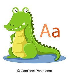 A alphabet vector animal
