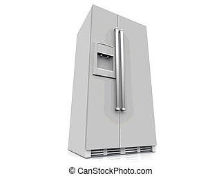 a, americano, refrigerador